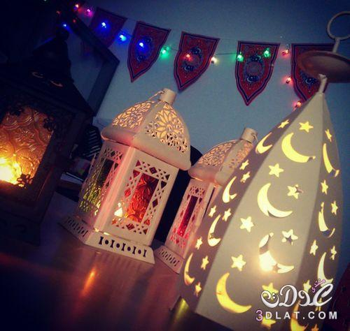 خلفيات فوانيس رمضان 2019 ادعية تهنئة 3dlat.net_21_17_ac40