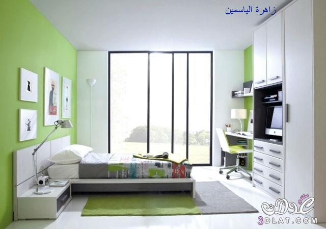 غرف نوم شبابية للجنسين,اجمل غرف النوم لعام 2018/2017   زاهرة