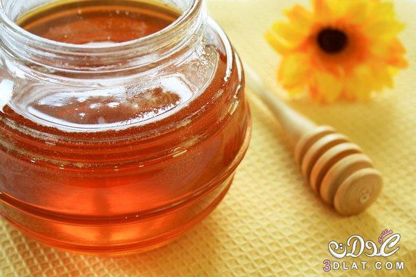 العسل, للبشرة, مقشر