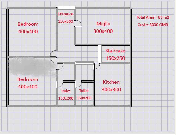 صور خرائط وتصاميم منازل و شقق مساحات صغيرة ومتوسطة تصاميم بيوت صغيرة مخططات  منازل - اسيرة 67