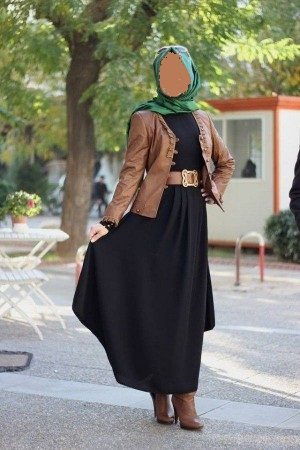 1079f34bcdf2a ملابس العيد للمحجبات لعيد 2020 اجمل ازياء للمحجبات لصيف 2020 ...