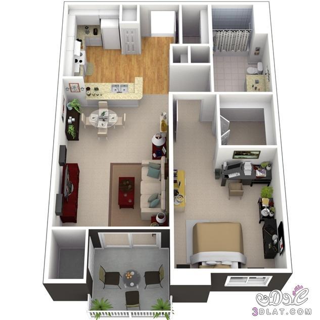 صور خرائط وتصاميم منازل و شقق مساحات صغيرة ومتوسطة تصاميم بيوت