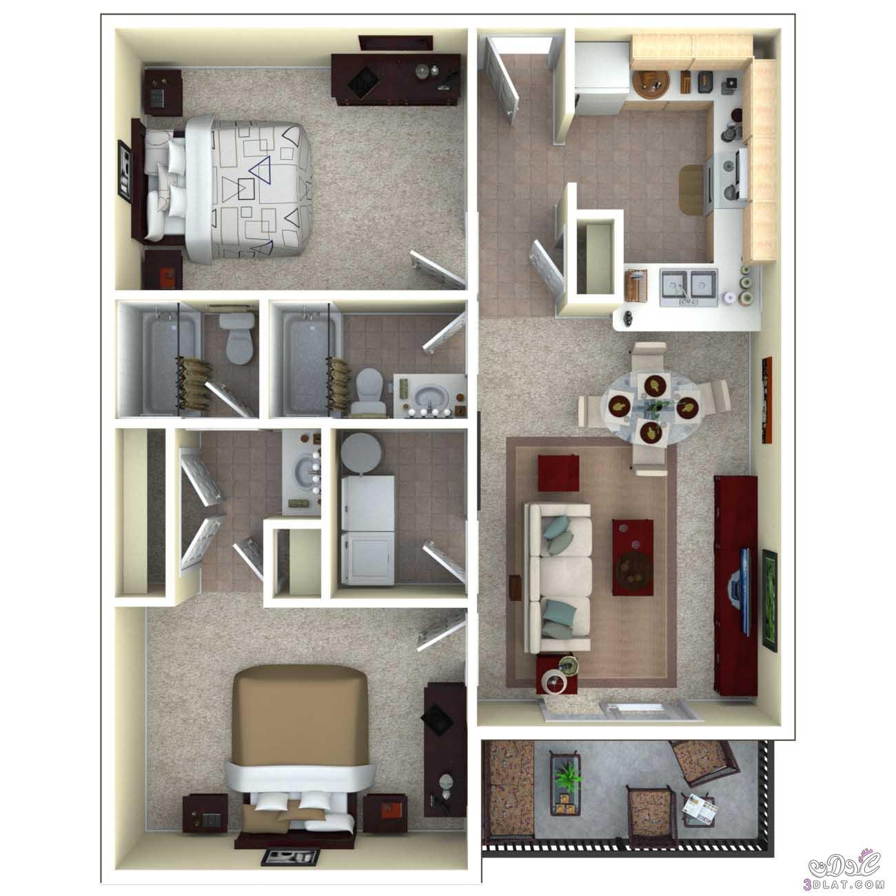 70 Simple Home Office Decor Ideas For Men: صور خرائط وتصاميم منازل و شقق مساحات صغيرة ومتوسطة تصاميم