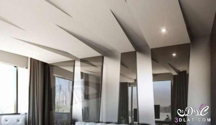 ديكورات جبس 2019 اسقف وحوائط دكورات جبسية لشقق رائعه A7sas