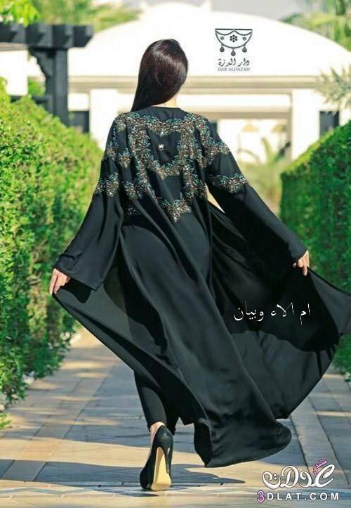 fb068fd627977 عبايات رائعة من دار الدزة القطرية