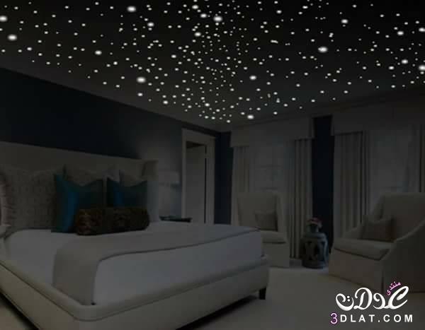 غرف نوم باللون الاسود , غرف نوم باللون الاسود والابيض 2018   ♥mnoon♥