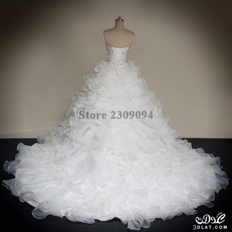 f8783abd39615 فساتين زفاف منفوشة بالصور 2020