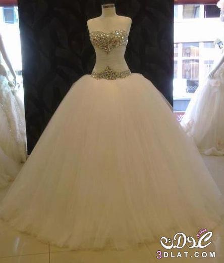 86835c29abad7 فساتين زفاف منفوشة بالصور 2020