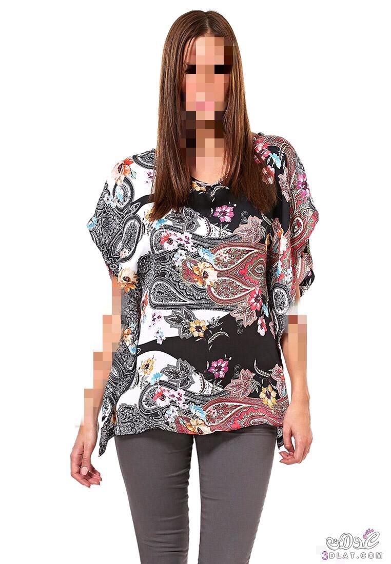 بلوزات صيفية جديدة..ملابس صيفية رائعة..بلوزات رقيقة ومميزة