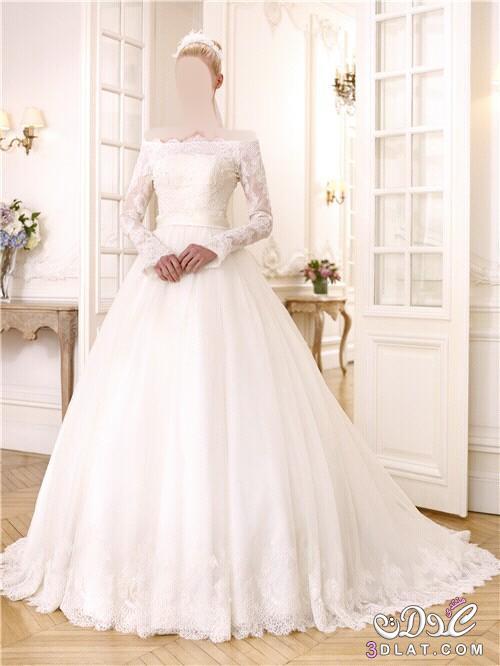 17f30946cf204 صورفساتين زفاف فخمة 2020 اجدد موديلات فساتين زفاف موضة2020 صور ...