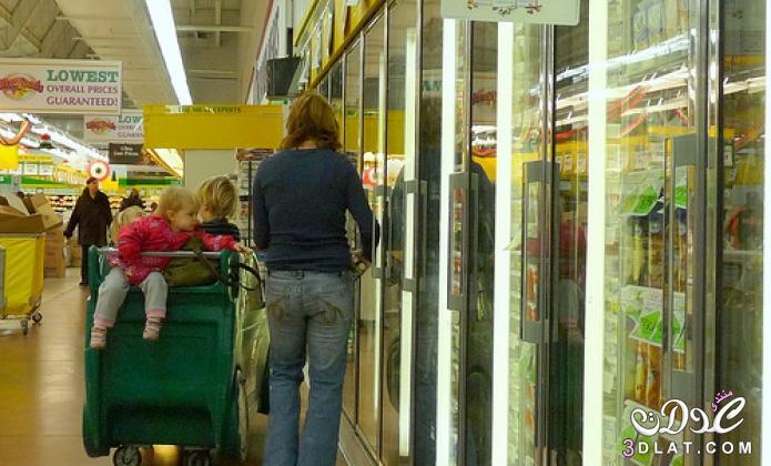 10 خطوات للتسوق مع طفلك بسهولة  نصائح للام عند اصطحاب طفلها للتسوق 3dlat.net_26_15_4c8e