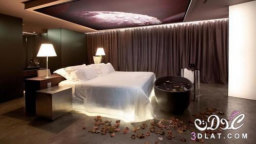أجمل غرف نوم للمتزوجين غرف نوم رمنسية   ورود الحياة