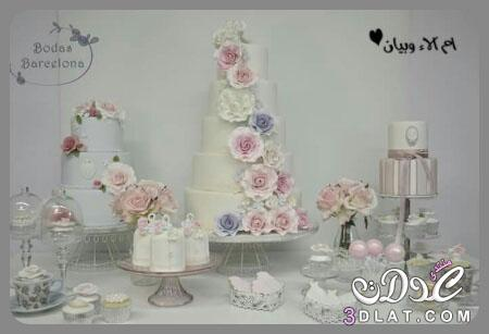 تورتات لحفلات الزفاف bodas barcelona 2019,اجمل 3dlat.net_26_16_3b75