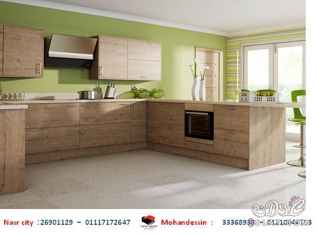 مطابخ acrylic - مطابخ خشب