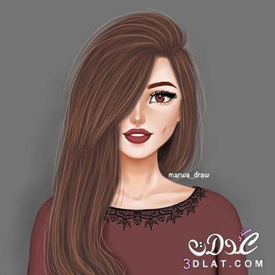 صور بنات كيوت 2019 احلي خلفيات بنات للفيس بوك Girly M Girly Art
