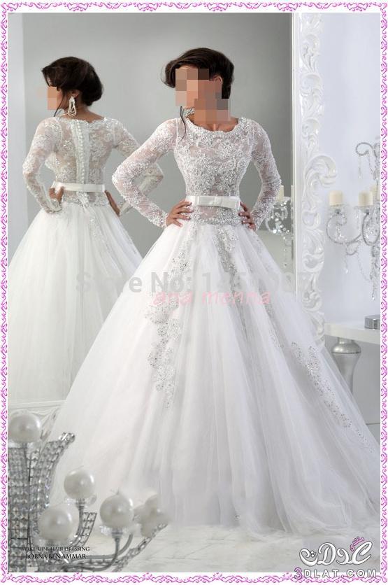 565c8e6040571 فساتين زفاف للمحجبات 2020