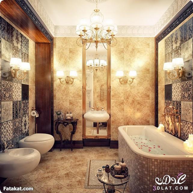 اجمل حمامات  201617 باشكالها الجميله . اروع الحمامات الفخمه لعام 2016 3dlat.net_28_16_5a49