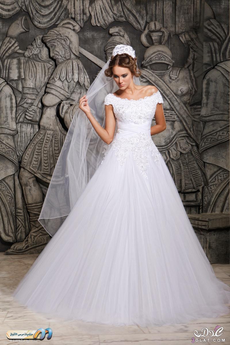 d66629bbc اجمل فساتين زفاف للمحجبات 2020 - فاطمة الامورة