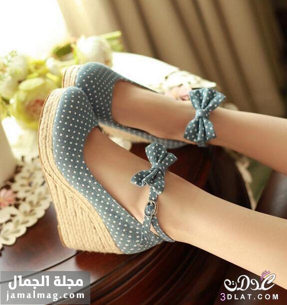 f2266ee40f68f تشكيلة مميزة من أحذية الروكي الربيعية...أحذية ناعمة وجذابة .. أحذية ...