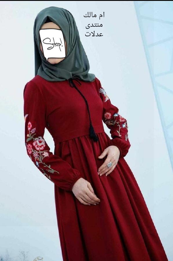 موديلات فساتين حجاب 2019.احدث تصميمات ازياء 3dlat.net_28_17_8866