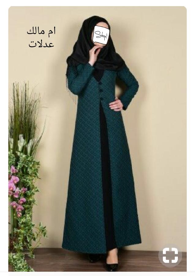 موديلات فساتين حجاب 2019.احدث تصميمات ازياء 3dlat.net_28_17_ab31