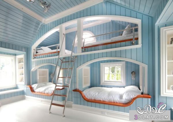 غرف نوم اطفال جديدة , ديكورات غرف نوم اطفال روعه , احدث تصاميم غرف