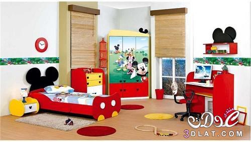 ديكورات غرف أطفال مستوحاة من عالم ديزني Princess Weaam