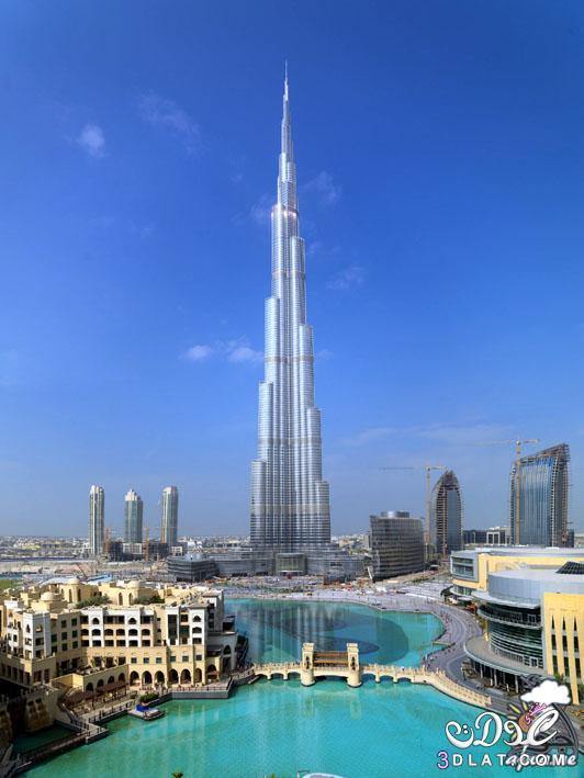 برج خليفة أطول برج في العالم رحله الى برج خليفه بدبى معلومات