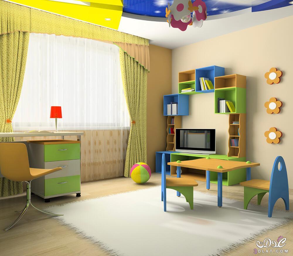 غرف نوم اطفال 2017 مودرن تصاميم منوعه 2017 kids rooms