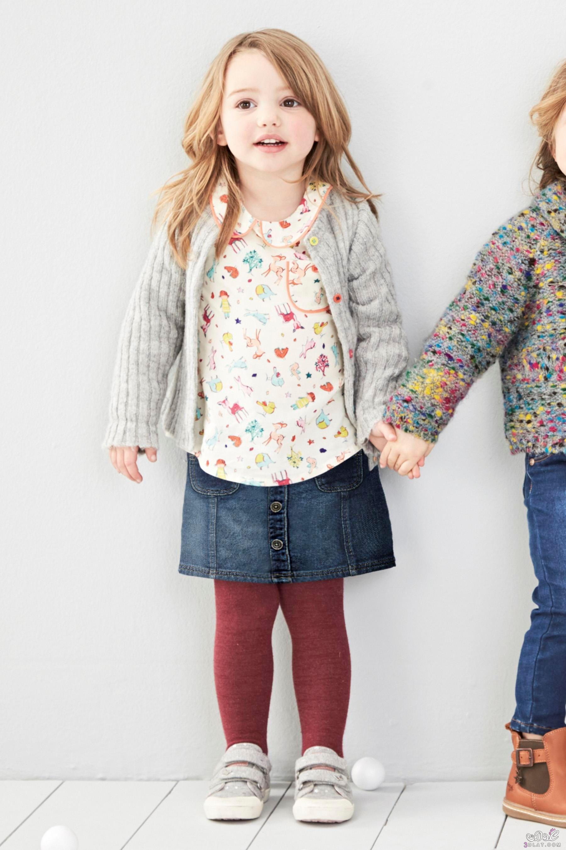 7beb2831c ملابس بنوتات لشتاء 2020..اجدد موديلات ملابس الاطفال..ملابس اطفال بماركات  عالمية