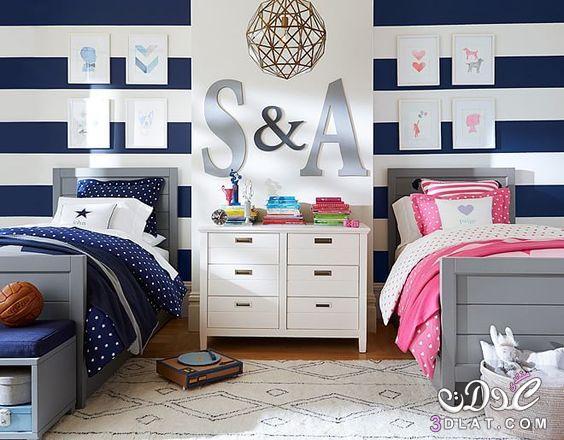 غرف نوم مشتركة رائعة, غرف نوم مشتركة بسيطة ,غرف نوم مشتركة
